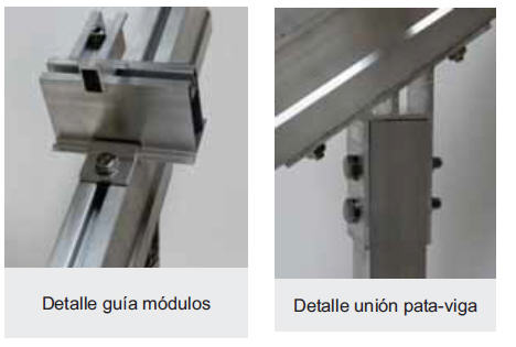 estructura de pared
