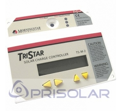 Display TS-RM-2 para Regulador Morningstar TS-60 y TS-MPPT-60